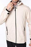 Ghassy Co Erkek Taş Rüzgarlık/Yağmurluk Outdoor Omuz Detaylı Mevsimlik Spor Ceket