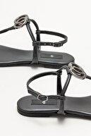 Elle Kadın Siyah  Parmak Arası Sandalet