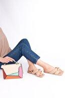 Marjin Kadın Bej Helgin Sandalet