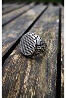 Takı&Tak Gümüş Kaplama Erkek Yamaç Yüzüğü