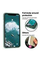 """Cekuonline Iphone 11 Pro 5.8"""" Logolu Lansman Kılıf Altı Kapalı Iç Kısmı Kadife - Siyah"""