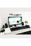 Katsuta Greenfire 70x30 Mouse Pad Gaming Oyuncu Mousepad
