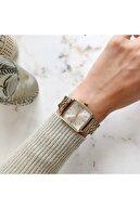 OQQO Greatness Altın Gümüş Kadın Kol Saati