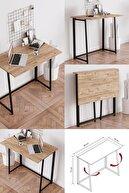 Fahrettin Küçük Work Katlanabilir Çalışma Masası Bilgisayar Masası Çizim Masası