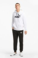 Puma ESSENTIALS FLEECE Beyaz Erkek Sweatshirt 100480616