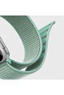 Microsonic Microsonic Watch Series 3 38mm Uyumlu Hasırlı Kordon Woven Sport Loop Spicy Orange