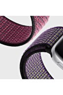 Microsonic Microsonic Watch Series 6 44mm Hasırlı Woven Sport Loop Yeşil Kordon