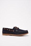 Hotiç Hakiki Deri Lacivert Erkek Klasik Ayakkabı 02AYH216220A680