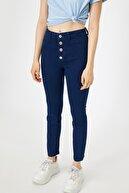 Koton Kadın Mavi Jean Pantolon 0KAK47334DD