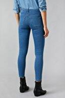 Koton Kadın Orta Indigo Jeans