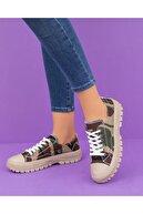 Espardile Kadın Ortopedik Taban Sneaker
