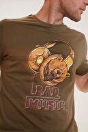 Bad Bear Erkek Haki Bad Music Tişört 200107030-khk
