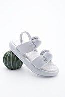 Marjin Kadın Dolgu Topuk Sandalet HorevBeyaz