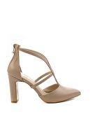 Bambi Nude Kadın Klasik Topuklu Ayakkabı K01926031209