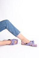 Marjin Kadın Lila Sandalet