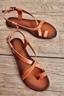 Bambi Taba Kadın Sandalet L0685162103