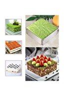 Milea Pratik Ayarlanabilir Lüx Kare Kek Pasta Kalıbı