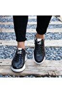 İBAY Erkek Siyah Hakiki Deri Günlük Ayakkabı 1934 Energy