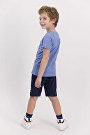 US Polo Assn Erkek Çocuk İndigo Bermuda Takım