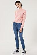 Lee Kadın Mavi Scarlett High Skinny Fit Denim Esnek Jean Kot Pantolon