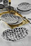 Kütahya Porselen Zeugma Pasta Seti 6 Parça Dg439