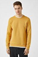 Koton Erkek Hardal Sweatshirt 1KAM71069LK