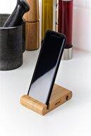 IKEA Bergenes Ahşap Bambu Cep Telefonu Ve Tablet Tutucu Stand