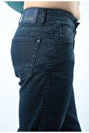 Factor Erkek Lacivert Modern Kesim Fermuarlı Kot Pantolon F103