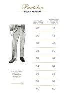 Altınyıldız Classics Erkek Taş 360 Derece Her Yöne Esneyen Rahat Slim Fit Pantolon