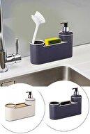 Sunplast Lüx 3in1 Sıvı Sabunluk Seti