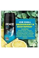 Axe Erkek Deodorant Sprey Ice Chill 150 ml X3
