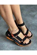 Wenti Shoes Kadın Siyah Outdoor Sandalet Ws 100
