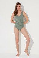 Penti Kadın Yeşil Mayo