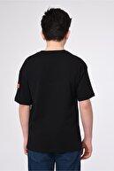 Lavien Erkek Çocuk Basic Yaka Baskılı T-shirt