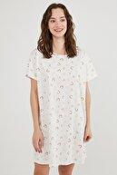 Penti Kadın Açık Pembe Pastel Rainbow Ss Elbise