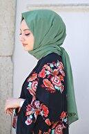 AFVENTE Kadın Çağla Yeşili Cotton Pamuk Şal Ck01