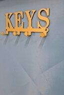 3art Metal Anahtar Askılığı - Dekoratif Anahtarlık - Metal Askılık