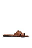 Trendyol Shoes Taba Kadın Terlik TAKSS21TE0012