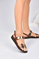 Fox Shoes Kadın Taba Hakiki Deri Sandalet K374680603