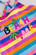 Penti Kız Çocuk Çok Renkli Color Summer Mayo