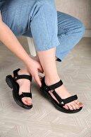 Ccway Kadın Cırtlı Sandalet
