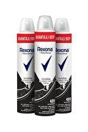 Rexona Kadın Deodorant Sprey Invisible Black + White 200 ml X3