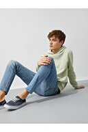 Koton Erkek Mavi Micheal Skinny Fit Jeans