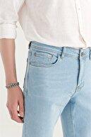 Avva Erkek Açık Mavi Slim Fit Jean Pantolon A11y3508