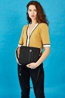US Polo Assn Sıyah-sıyah Kadın Postacı Çantası Us8369