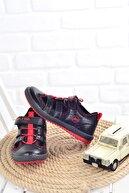 Muya Erkek Çocuk  Siyah Spor Ayakkabı 89037-45