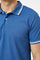 Koton Erkek Indıgo T-Shirt 0YAM11203LK