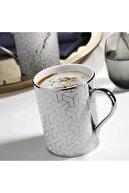 Kütahya Porselen 2 'li Kaplama Mug Platin 10951