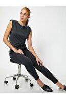Koton Kadın Siyah Jeans 0YAK47624MD