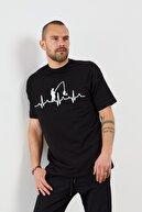 Densmood Resim Detaylı Kısa Kollu T-shirt